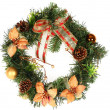 Christmas wreath — Stock Photo #2182800