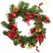 Christmas wreath — Stock Photo #2182808