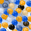 Royalty-Free Stock Photo: Colorful party balloons background