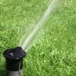 Lawn Sprinkler — Stock Photo #2183988