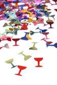 Lunettes sous la forme de confettis — Photo