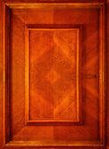 原木门的一部分 — 图库照片
