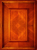 Part of wood door — Stock Photo