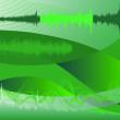 Spectrum analyzer, abstract background - Vettoriali Stock