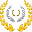 Royalty-Free Stock Vector Image: Laurel wreath