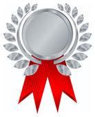 Vector silver award — Stock Vector