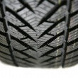 Stock Photo: NEW WINTER TIRE