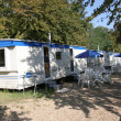 Foto de Stock  : Camping ground expedition