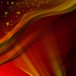 Magic red winter background -  