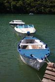 Boats docked — Stock Photo