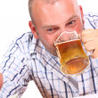 Drunk Man - Stock Photo