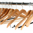 Stock Photo: Coat hangers