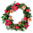 Christmas Wreath — Foto de stock #2417178