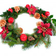 Christmas Wreath — Stock Photo #2417528