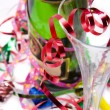 Champagne and party time - Stock Photo