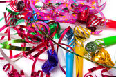 Party blowers — Stock Photo
