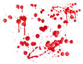 Blood splatters — Stock Photo
