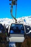 Ski lift gondola — Stock Photo