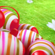 Painted Colorful Easter Eggs — Stock Photo #2608118