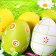 Painted Colorful Easter Eggs — Stock Photo #2608173