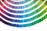 Vzorník barev — Stock fotografie
