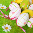 Painted Colorful Easter Eggs — Stock Photo #2672572