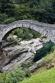 Ancient arch stone bridge — Stock Photo