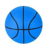 Blue basketball — Stock Photo