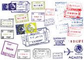 Pasaport pulları — Stok Vektör