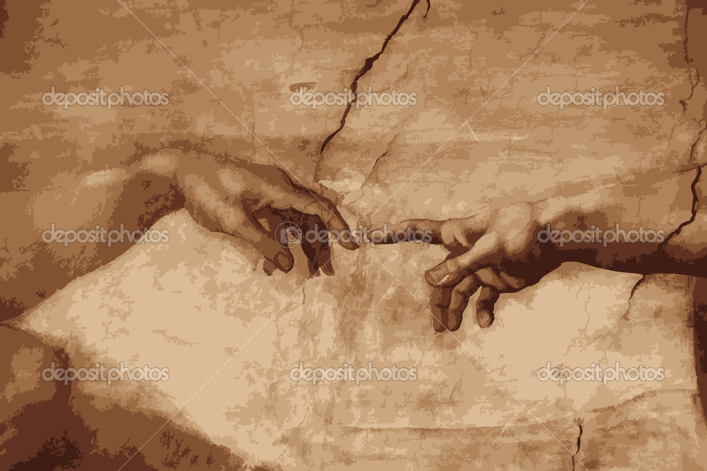 creation of adam v the crucificition The crucifixion of jesus - as the soldiers led him away, they seized simon from cyrene, who was on his way in from the country,  luke 23:26-43 luke 22 luke 24.