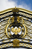 Golden Gate at Buckingham Palace — Stock Photo
