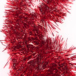 Royalty-Free Stock Photo: Red tinsel