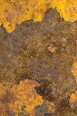 Paslı metal bir yüzeye — Stok fotoğraf