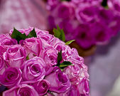 Two wedding flower bouquets — Stok fotoğraf