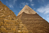 Pyramids at Giza — Stock Photo