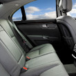 Stock Photo: Interior of luxury car