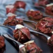 Stock Photo: Beef carpaccio