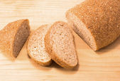 Bread with bran — Stock Photo