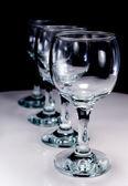Four wineglass — Stock Photo