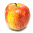 A shiny red apple — Stock Photo