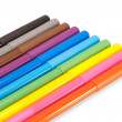 Colored markers — Stockfoto #2601213