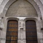 Постер, плакат: Gothic Architecture entrance