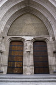 Gothic Architecture - entrance — Stock Photo