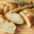 Yeast plait — Stock Photo