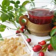Rosehip tea — Stock Photo