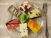 Cake plate — Stock Photo