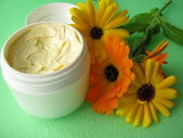Marigold cream — Stock Photo
