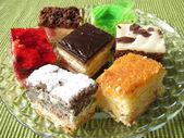 Cake bits — Stock Photo