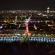 Lyon at night — Stock Photo