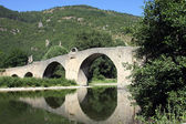 Bridge over Tarn river — Stock Photo
